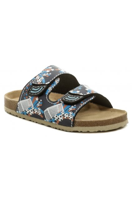 Bio Walker 704010 modré pantofle