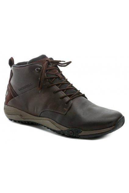 Merrell J598619 hnědé pánské zimní boty