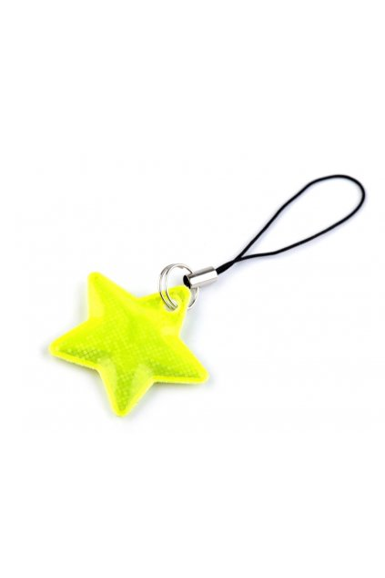 Reflexní přívěsek - taháček hvězda L9740796