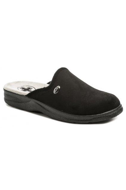 Medi Line 617 černé pánské zdravotní pantofle