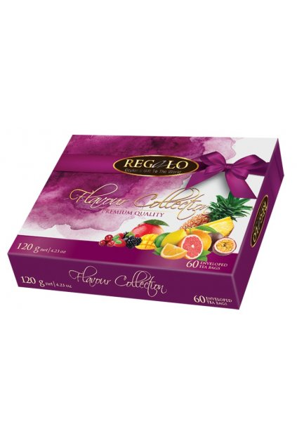 Dárkové balení čajů s kousky ovoce 120 g  L17026