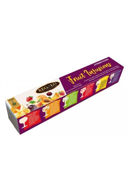 Dárkové balení ovocných čajů mix v pyramidových sáčcích   L17022