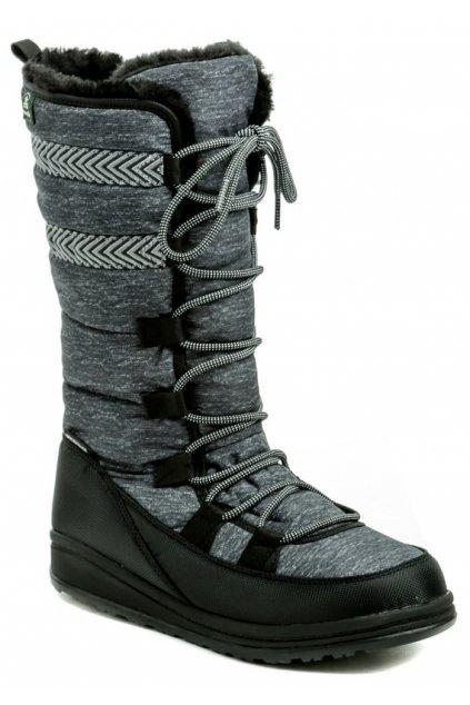 Kamik Vuplex Black dámská zimní obuv