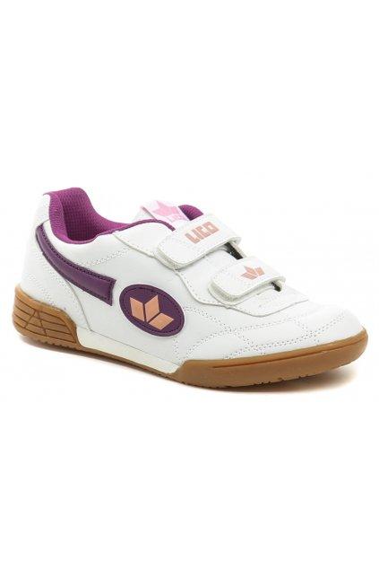 Lico 360425 bílo fialové sportovní tenisky