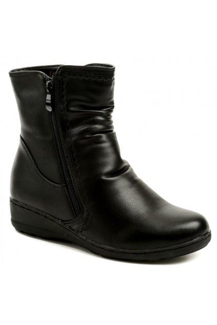 Scandi 56-0119-A1 černé dámské zimní boty