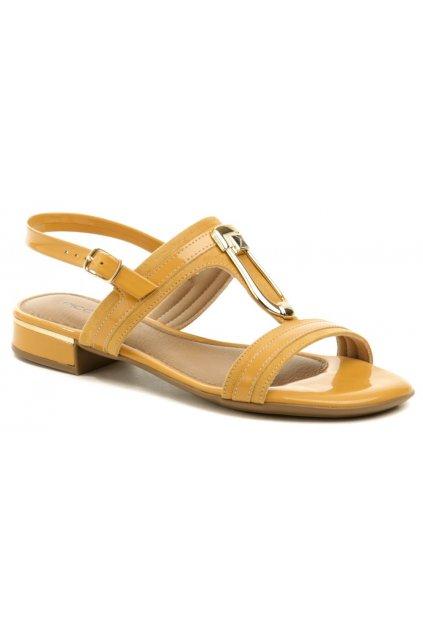 Piccadilly 558024-4 béžově zlaté dámské sandály