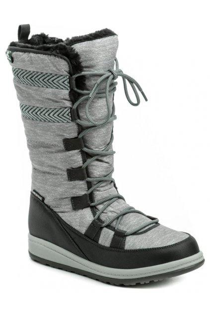 Kamik Vuplex šedá dámská zimní obuv