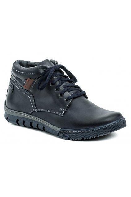 Mateos 712 modré pánské zimní boty