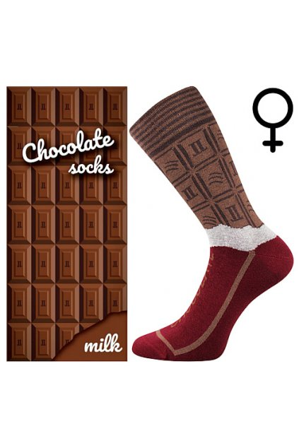 ponožky Chocolate - MILK dámské