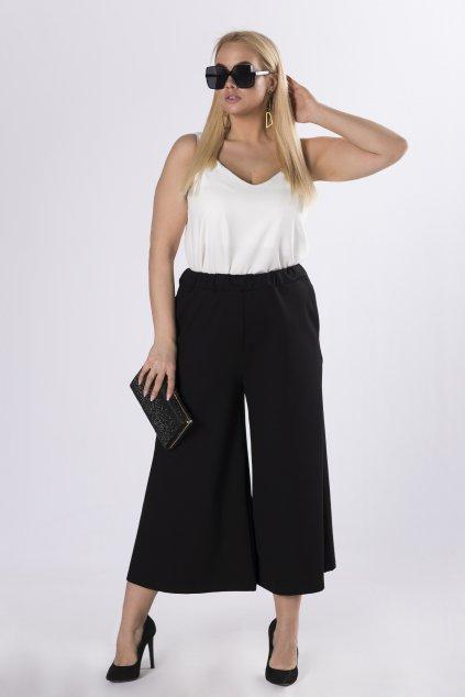 Kalhotová sukně v černé barvě 83443