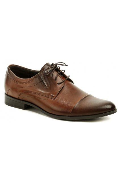 Tapi C-6915 hnědá pánská společenská obuv