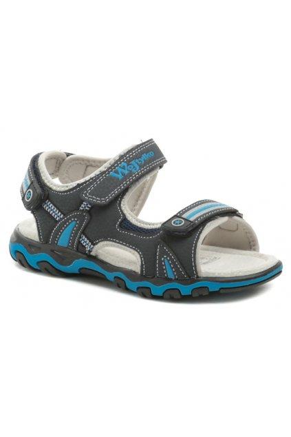 Wojtylko 5S2820 modré chlapecké sandálky