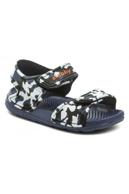 Slobby 191-0018-T1 modré sandálky