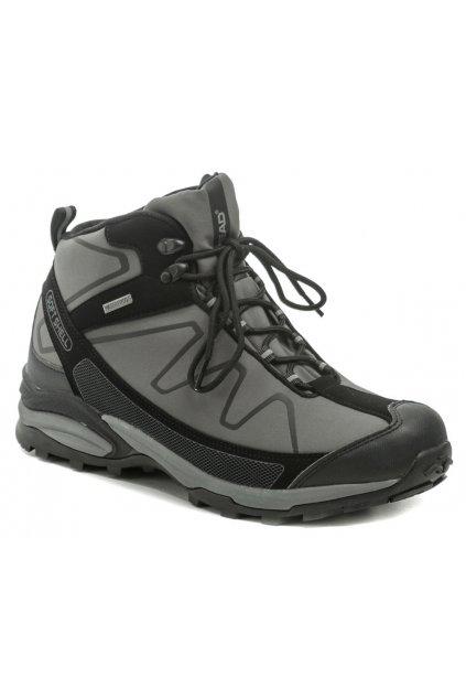 Head H3-109-26-13 černo šedé pánské trekingové boty