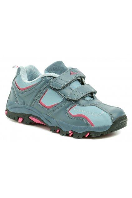 Vemont 5A9049 modré trekingové boty