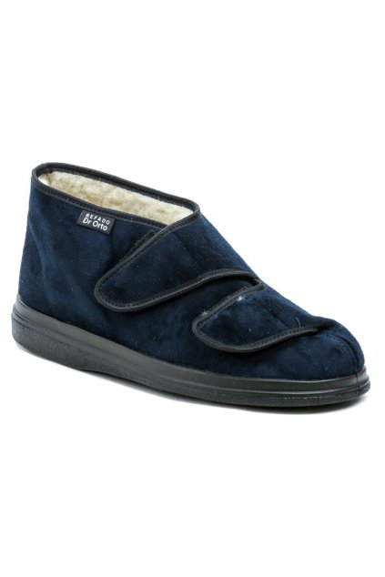 Dr. Orto 986D010 modré pánské zimní zdravotní boty