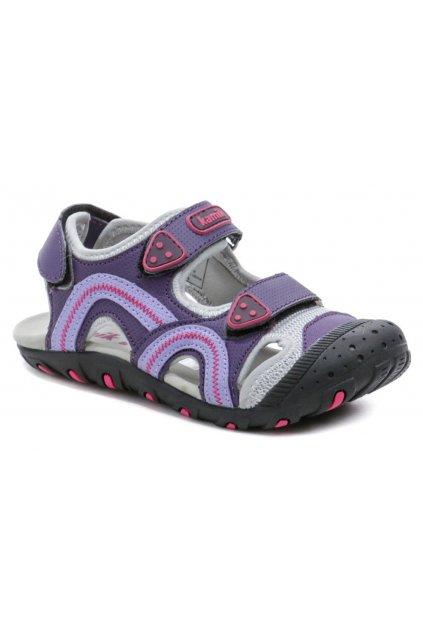 KAMIK SEATURTLE fialové dětské sandály