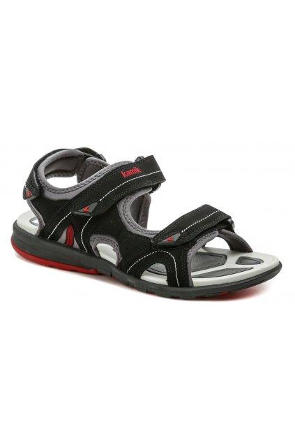 KAMIK CLEARLAKE černé pánské sandály