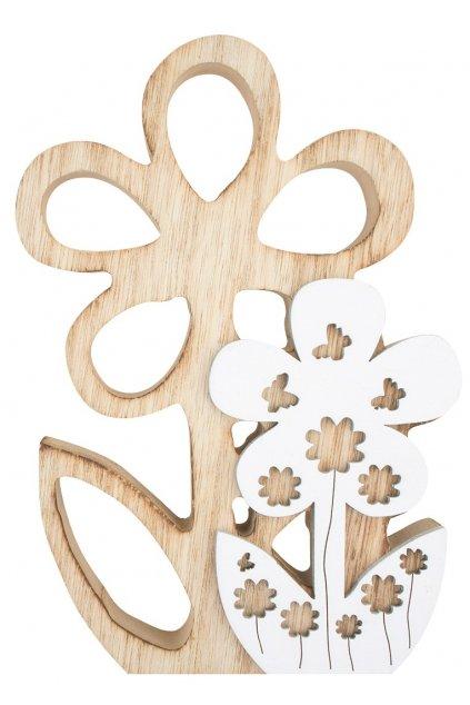 Kytička dřevěná na postavení 18 cm L4167