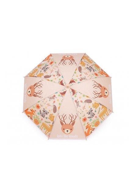 Dětský vystřelovací deštník - zvířátka L9530975
