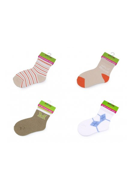 Kojenecké ponožky chlapecké vel. 12-18 měsíců L9290585