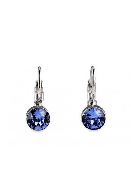 Náušnice se Swarovski Elements Sapphire L9350163
