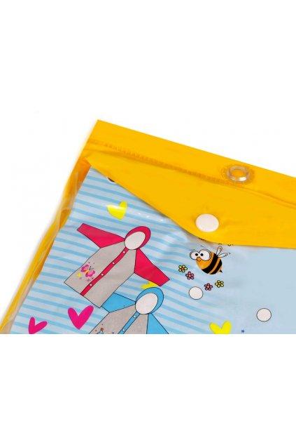 Dětská pláštěnka delfín, žába, včela L9540142