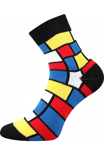 ponožky Pruhana 15 - modrian