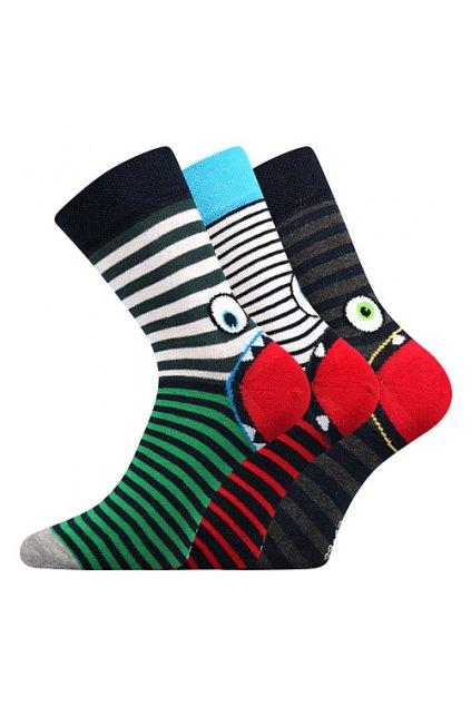 ponožky Ksichtik - mix C