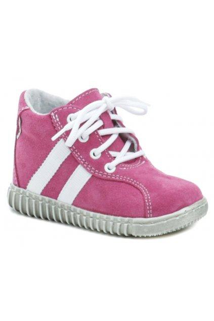 Pegres 1095 růžové dětské botičky