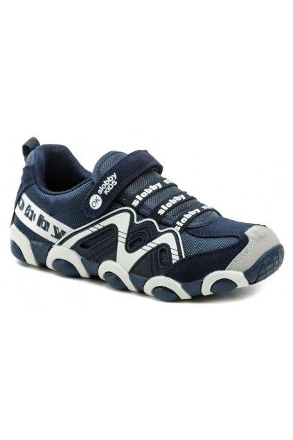 Slobby 172-0013-S1 modro bílé dětské tenisky