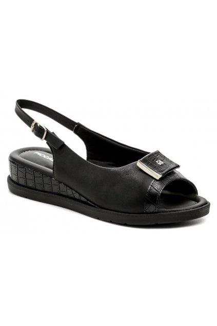 Piccadilly 458011-3 černé dámské sandály na klínku