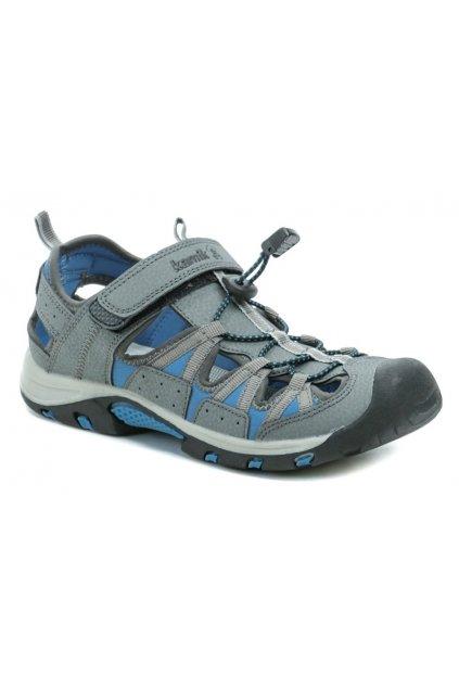 KAMIK ISLANDER světle šedé sandály