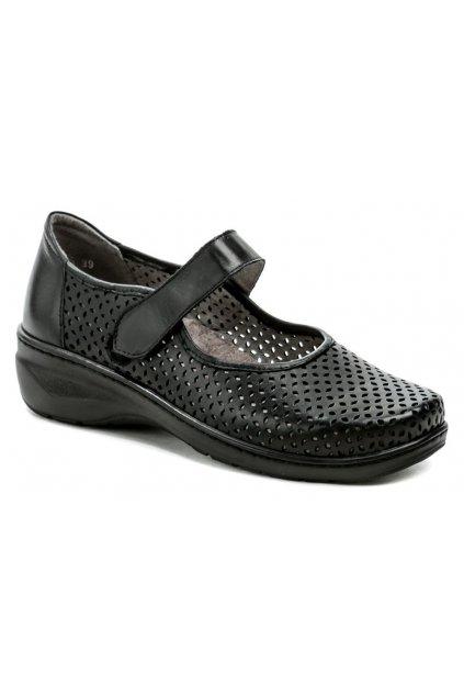 Axel AXCW151 černé dámská obuv šíře H