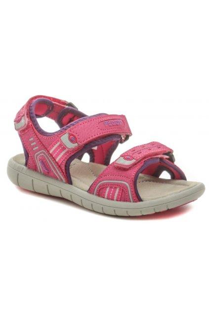 Peddy P2-512-35-03 růžové dětské sandálky
