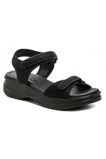 Azaleia 320-321 černé dámské sandály
