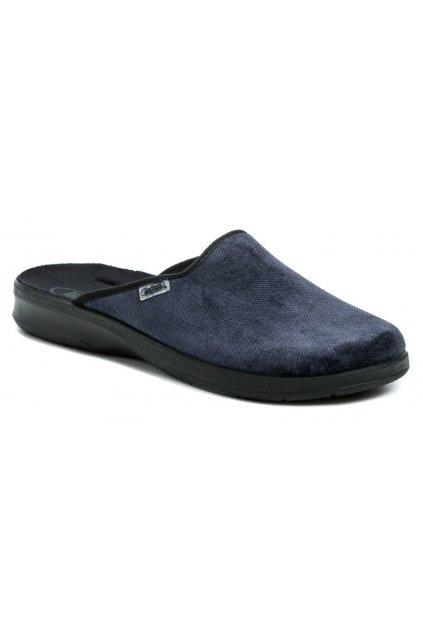 Befado 548M018 modré pánské papuče