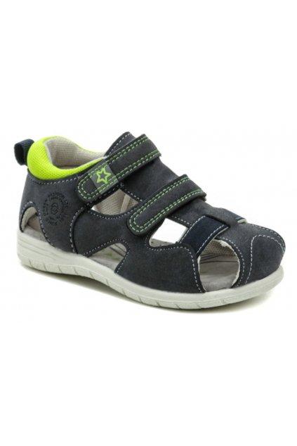 Sprox 524092 modré chlapecké sandálky