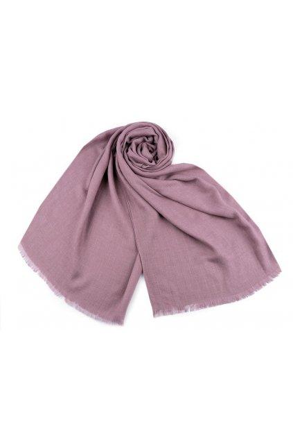 Šátek / šála jednobarevná 85x180 cm L9770797