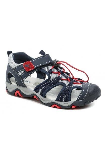 Slobby 152-0042-t1 modré sandály