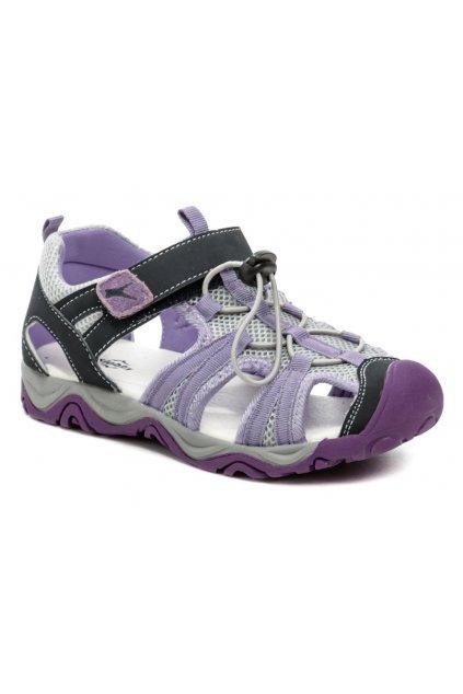 Slobby 152-0042-t1 fialové sandály
