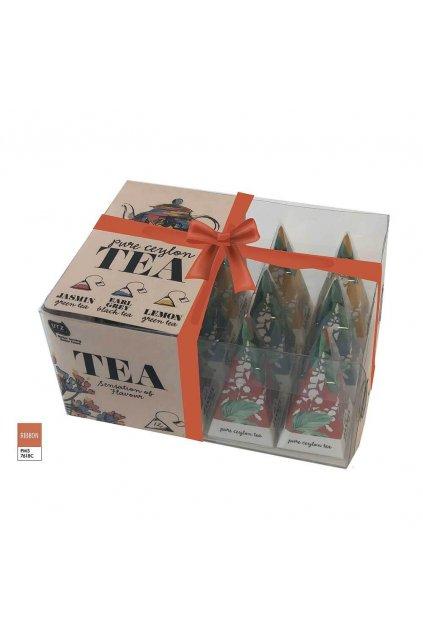 996102 Tea Pyramid Box