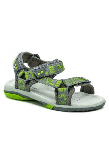 Wojtylko 5S40821 šedé chlapecké sandálky