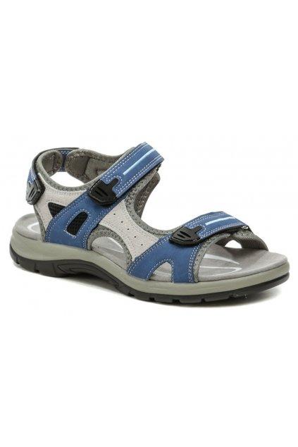 Scandi 251-2094-D1 modré dámské sandály