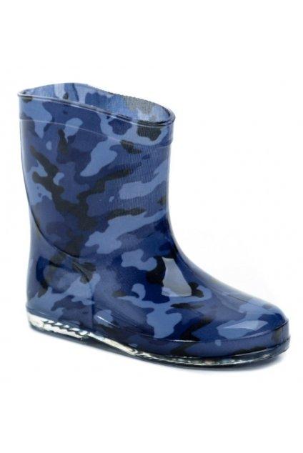 Slobby 166-0029-T1 modré dětské gumáčky