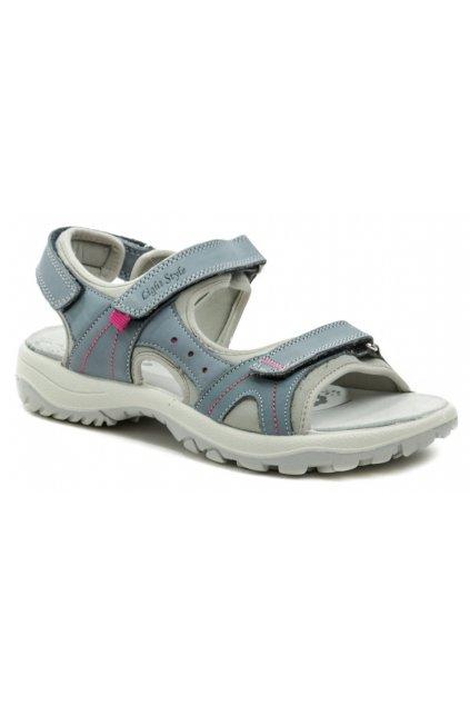 IMAC I2868e72 bledě modré dámské sandály