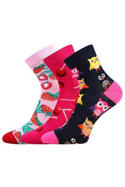 ponožky Dedotik - mix B - holka