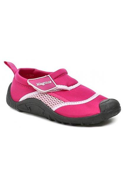 Magnus 44-0821-T6 růžová dětská obuv do vody