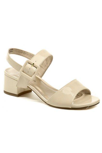 Tamaris 1-28211-24 béžové dámské sandály