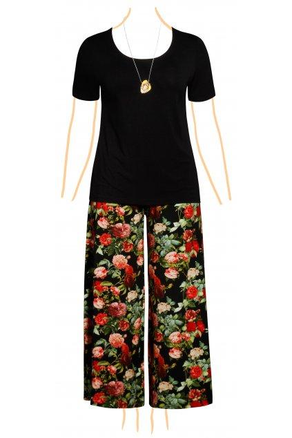 kalhotova sukne pro plnostihle